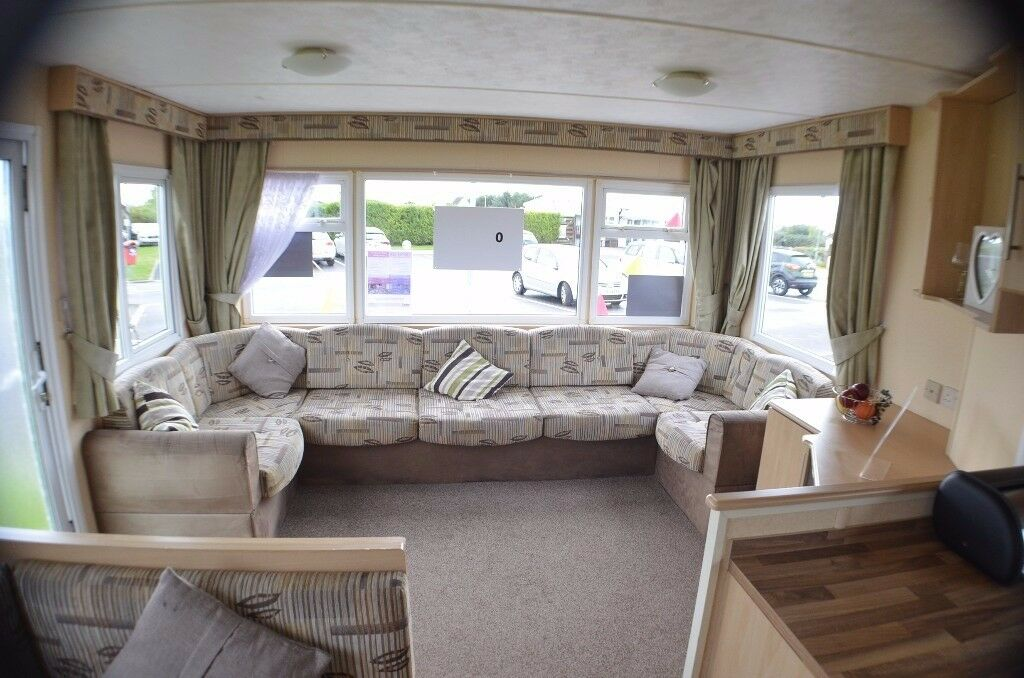 BARGAIN ** STATIC CARAVAN WITH HEATING ** SOUTHERNESS SCOTLAND DUMFRIES AYR CUMBRIA