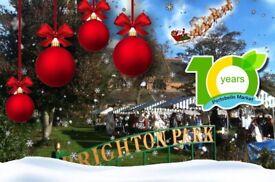 Portobello Market in December