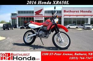 2016 Honda XR650L Tackle any terrain!! Excellent torque on or of