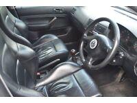 Silver Volkswagen Golf 1.8 T GTI 5 door