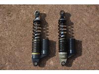 Pair of Keeway Speed 125 Rear Shock Absorbers
