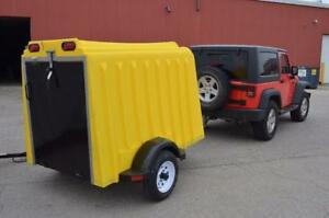 WINTER BLOWOUT SALE!!  NEW Yuppie Wagon Recreational Trailer!! Enclosed!