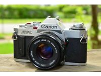 Canon AV1 35mm SLR Camera