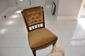 Antique Chair for Sale, Solid Wood