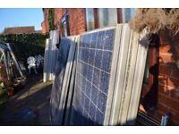 Bargain.Solar panels for camper or caravan.