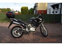Honda Varadero XL 125 2007 ,11 months MOT,new front tyre,chain,sprockets and clutch