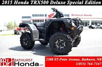 2015 Honda TRX500 Rubicon Deluxe - DCT Mag Wheels! Independant R