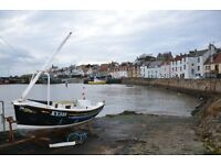 THE FIFIE, ST MONANS, FIFE - HOLIDAY COTTAGE FLAT, ACCOMMODATION, APARTMENT