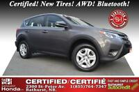 2014 Toyota RAV4 LE Certified! New Tires! AWD! Bluetooth! Power