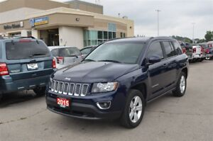 2015 Jeep Compass High Altitude - 4x4, Leather, Sunroof