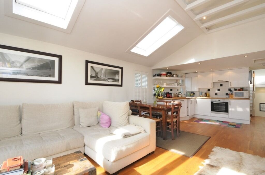 A two double bedroom property featuring a large open plan reception, Wandsworth Bridge Road, SW6
