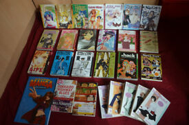 Manga Selection - various series and volumes- All or separately
