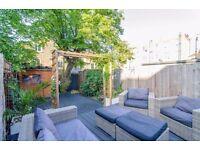 Beautiful 2 double bedroom ground floor garden flat within 2 minutes walk to Sth Clapham underground