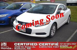 2012 Honda Civic Coupe Ex-L Certified! Navigation! Leather! Powe