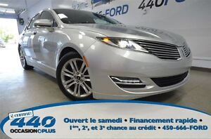 2015 Lincoln MKZ AWD  *Cuir, Toit Ouvrant, Navigation*
