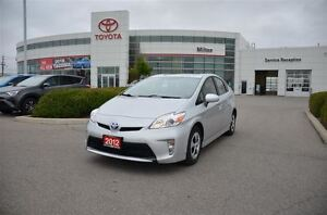 2012 Toyota Prius Hybrid, Low Mileage, Backup camera, One Owner