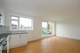 Top floor three double bedroom, two bathroom flat to rent in Beckenham.