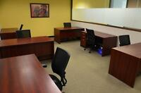 Customized office space for you entire team!