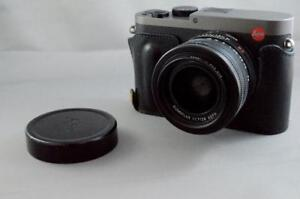 LEICA Q TITANIUM WITH FILTER AND GRIP - USED (DD)