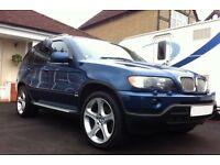 BMW X5 SPORT BLUE