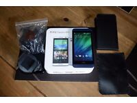 """HTC Desire 610 Android Smartphone 8GB, 8mp Camera 4.7"""" Screen, Car Mount, 2 Cases, Charger Boxed"""