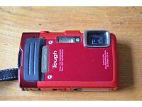 Olympus waterproof, shockproof, crushproof camera TG-830