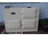 AGA DELUXE 2 oven Oil Fired Cooker Range. Disassembled. Ready for collection