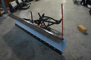 "New Snowplow - Snowbear 82"" Hot Dipped Galvanized Snow Plow! No Assembly Required! Free Shipping!"