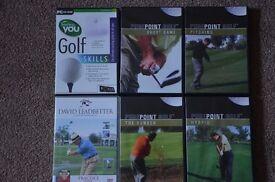 golf instructional DVDs