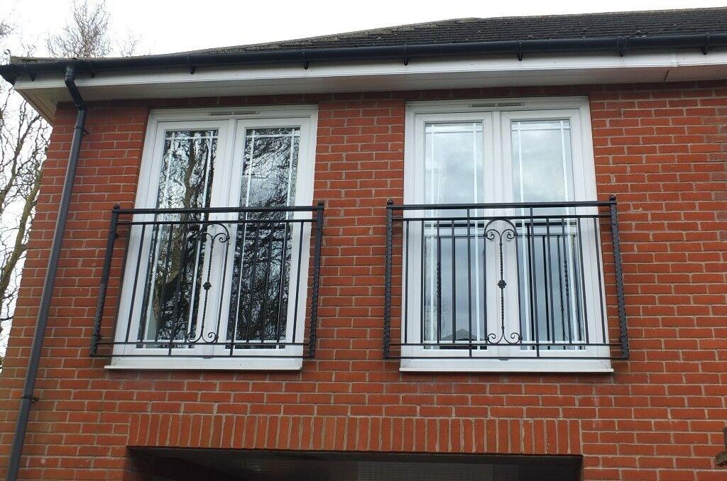 Two Sets Of Upvc Double Glazed Doors From Juliet Balcony
