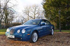 Jaguar S-Type 2.7d V6 Sport SE 4d Auto Blue, Diesel, 56 Plate