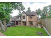 Astonishingly Spectacular 5 Bed House with Garden and Garage minutes walk to Weybridge Station!!