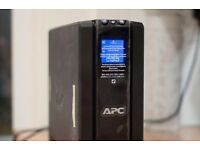 APC Back-UPS Pro 1500, Uninterupted Power Supply, Hardly Used