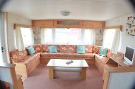 -GREAT VALUE-CARAVAN AT SOUTHERNESS PRICE INCLUDES 2017 SITE FEES AND ALL CONNECTIONS,near dumfries