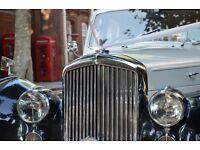 Bentley Mark VI/Wedding Classic Car Hire/London