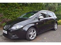2006 Seat Altea 2.0 170BHP FR TDI, 5 Door Hatchback, Black, Not GOLF GTD, Leon, C Max.