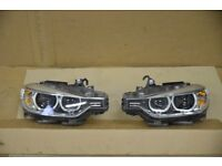 Car part: Original used EM left hand drive Bixenon Adaptive headlights BMW F30 F31 2011 - 2015 LHD