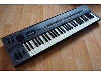 Vintage Casio HZ-600 digital/analog synthesizer with manual filter control modifications