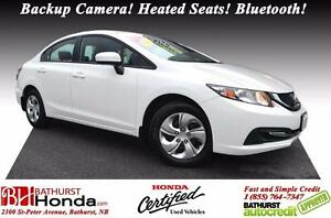 2015 Honda Civic Sedan LX Honda Certified! Backup Camera! Heated
