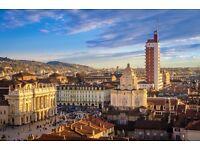 2 flights & hotel, London- Turin, 26 Feb- 5 Mar