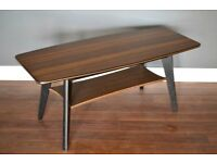 Stylish Vintage Danish Style Two Tier Bicolour Coffee Table. Delivery. Modern / Midcentury / Danish