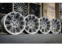 "*Refurbished* Genuine 18"" BMW MV2 5-Series E60 Style 135 Alloy Wheels 5x120 E46/E90"