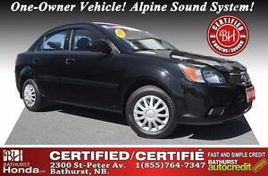 2010 Kia Rio EX Certified! One-Owner Vehicle! Alpine Sound Syst