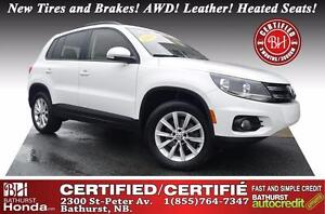 2014 Volkswagen Tiguan Comfortline New Tires and Brakes! AWD! Le