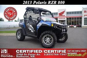 2013 Polaris RZR 800 Certified! Hard Top! Windshield! Mag Wheels