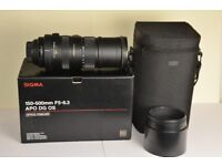 Nikon fit Sigma 150-500mm f/5-6.3 APO DG OS HSM