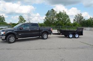 Construction Grade Trailers Best Built Tandem Axle Trailers  in the Province No Body beats our Price or Warranty