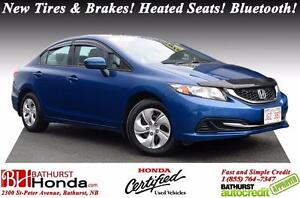2014 Honda Civic Sedan LX Honda Certified! New Tires & Brakes! H
