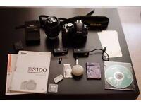 Nikon D3100 + Accessories