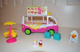 Shopkins Icecream Truck Playset